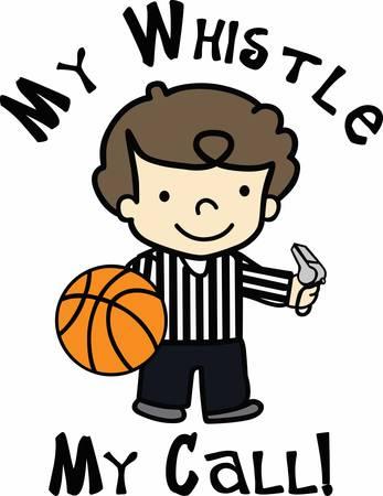 Basketball players will love this ball design. Ilustração
