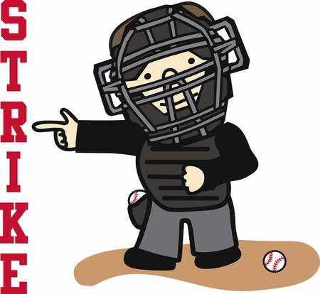 Baseball players will love this sporting design. Ilustração