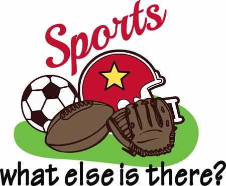 sports fan: Be the ultimate sports fan with great equipment.