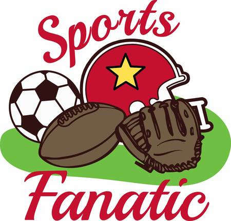 fanatic: Be the ultimate sports fan with great equipment.