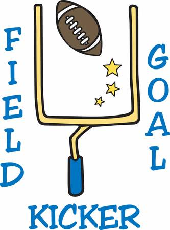 field goal: Football players love to see a great field goal.