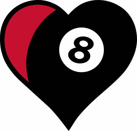 8 ball pool: Show that you have given your heart to the game.