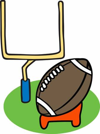 Show your love for the game of football with a great field goal.