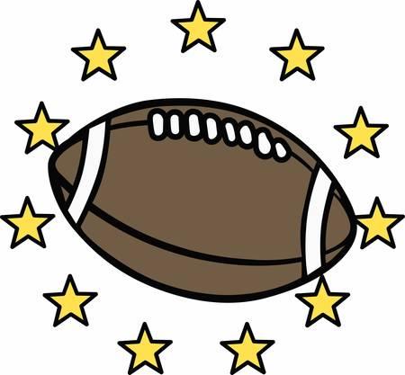 jugadores de futbol: Los jugadores de fútbol aman una pelota especial. Vectores