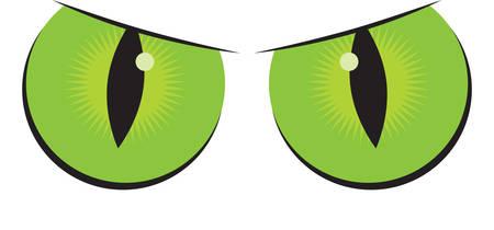 괴물 눈은 훌륭한 할로윈 장식입니다.