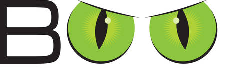 fictional character: Monster eyes are a great Halloween decoration. Illustration