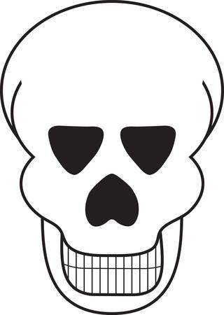 cranium: A skull is a great Halloween decoration.
