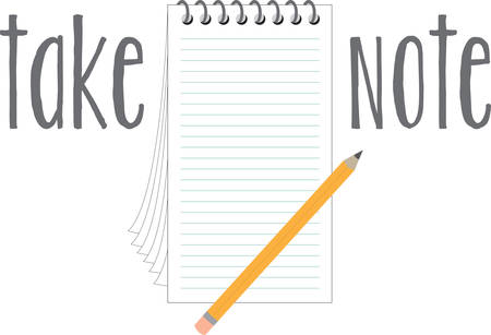 Use this notepaper for your favorite habitual listmaker.