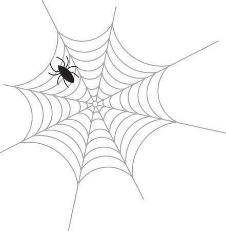 Une araignée est une grande décoration Halloween. Banque d'images - 41367916