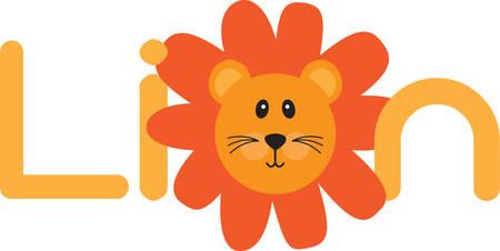 Use this lion for a fun safari shirt.