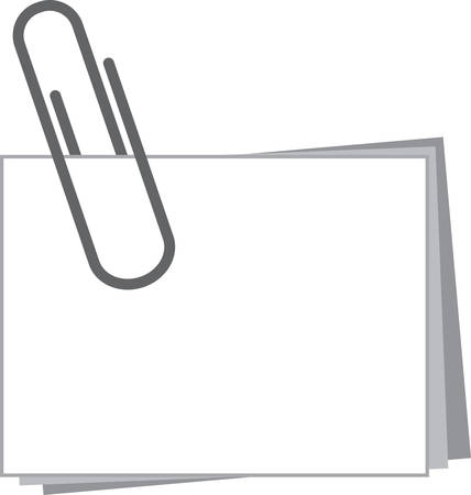 Use this paperclip note for a friendly gift.
