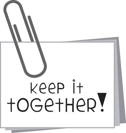 reminders: Use this paperclip note for a friendly gift.
