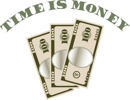 bucks: Use this money design for a big spender you love.