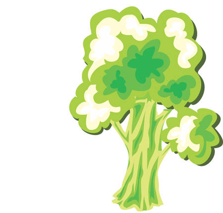 plant tree: Genealogists add names to their family trees.  This is a perfect design to add to their next project. Illustration
