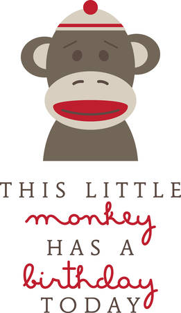 this: Send this sock monkey to your favorite little monkey.