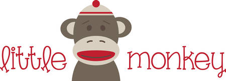 stuffed animal: Send this sock monkey to your favorite little monkey.