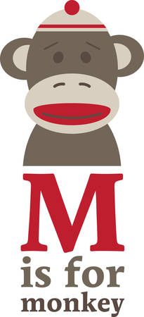 Send this sock monkey to your favorite little monkey.