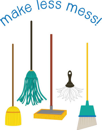 A mop such as a floor mop is a mass or bundle of coarse strings or yarn pick those designs by concord