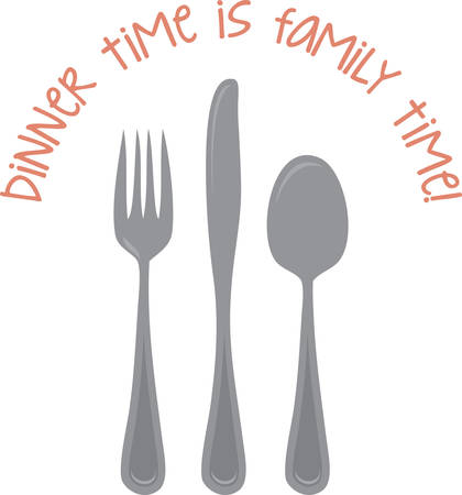 manners: Learn eating etiquette and table manners with this design by Concord.