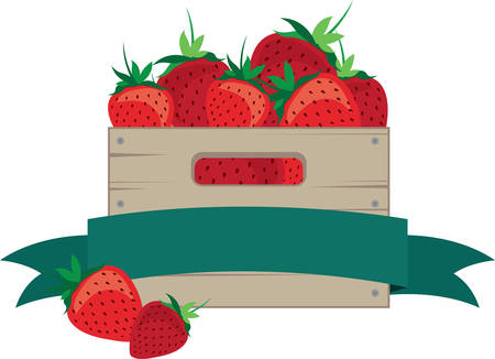 crates: Preserve Strawberries with this Crate to keep fruits fresh and healthy.