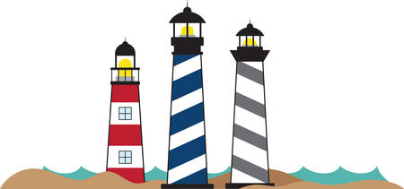 pick light: Light House Border helps to avoid the strong wind . Pick those design by concord