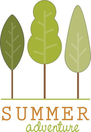 breeze: Beat the summer heat with this Trees and cool breeze designed by Concord.