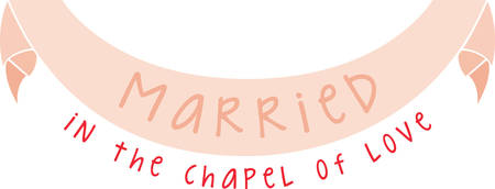 Beautiful Married Banner attracts people . Pick those design by concord