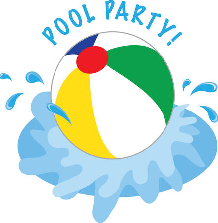splash pool: Sprays water in all directions Make your Water play a splash with this Beach ball designed by Concord.