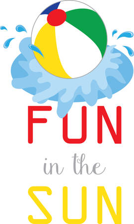 water play: Sprays water in all directions Make your Water play a splash with this Beach ball designed by Concord.