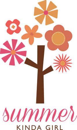 innocent: The floral tree reminds us of innocent pleasures and taking out time to communicate with nature and to share time with children encouraging them a love of flowers.