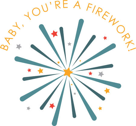 concord: Celebrate your winning with this Firework designed by Concord. Illustration