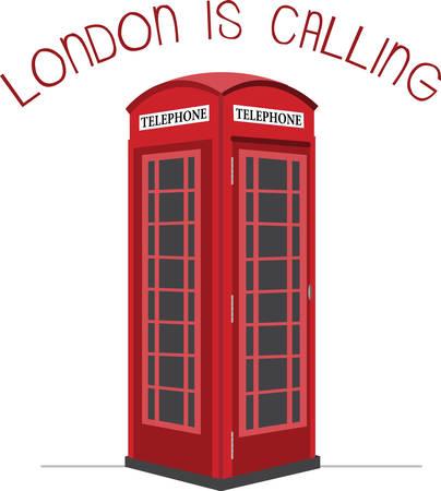 Una visita a Londres no estaría completa sin estas cabinas telefónicas lindos. Foto de archivo - 41373514