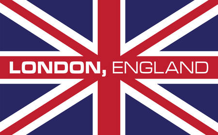 Collect the colorful London  flag. Pick those design by concord. Vectores