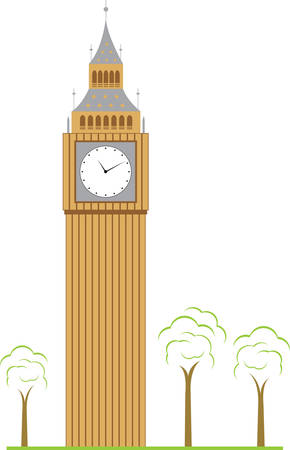 honour: The clock tower widely known as Big Ben is to be renamed the Elizabeth Tower in honour of the Queen. Pick those designs by Concord Illustration