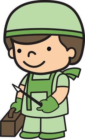 De arts-assistent is een belangrijk onderdeel van de Army Medical Specialist Corps. Pak die ontwerp van Concord.