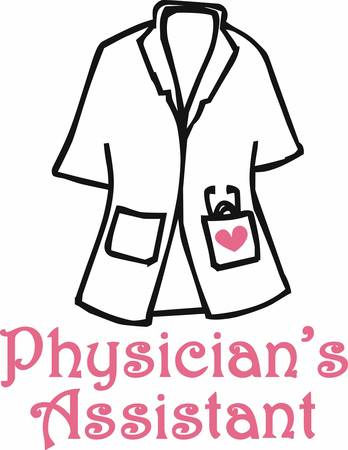 smock: A physician assistant or physician associate PA is a healthcare professional who is licensed to practice medicine as part of a team with physicians pick those designs by concord Illustration