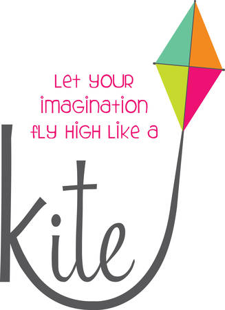 signifies: This design signifies Fly High and explore your thoughtsThink high. Illustration