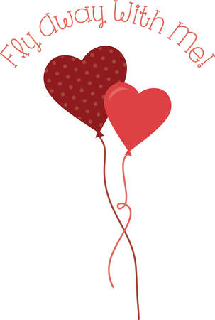 Use this heart balloons for a Valentine gift.