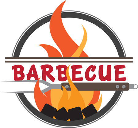 A hot grill and a barbecue are a few of a weekends favorite things.