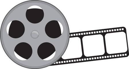 cinta pelicula: Sea un error de disparo con un rollo de película cámara clásica.