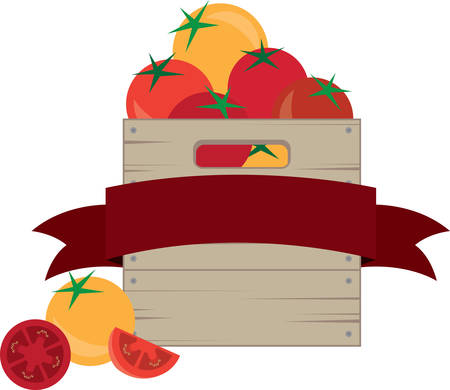 crates: This is the special design for the tomato lover.