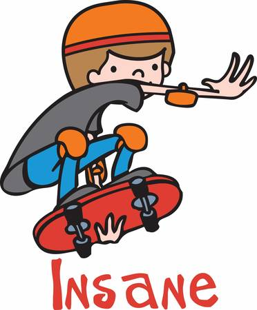realize: Hopefully kids realize you can do anything you want. Skateboarding can be that gateway. Illustration