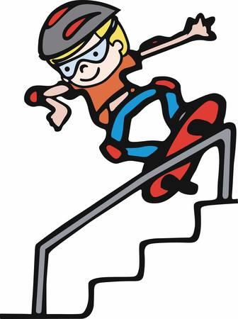 Life is a lot like skateboarding.