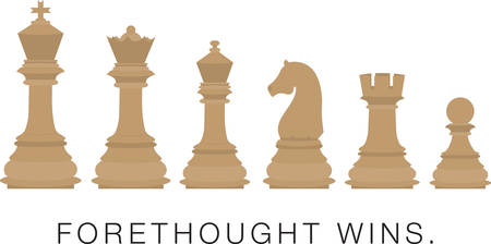 Use these chess pieces for a chess club.