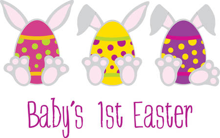 rabit: Celebrate the Easter Holiday with colourful bunny eggs designs by Concord