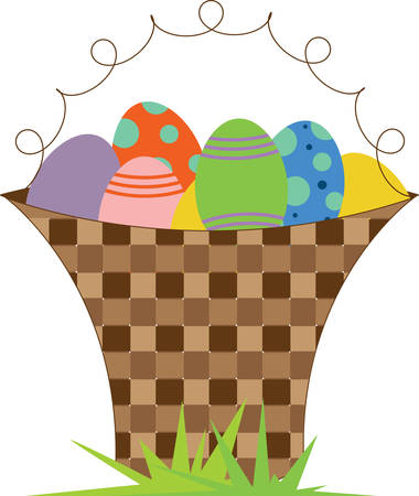 eastertide: Easter eggs are special eggs that are often given to celebrate Easter or springtime. As such Easter eggs are common during the season of Eastertide pick those designs by Concord Illustration
