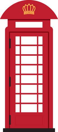 Niza diseño de la cabina de teléfono para decorar la casa Foto de archivo - 41473357