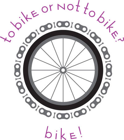 Great Design for all bike lovers. Use this design to embellish any sports gear.