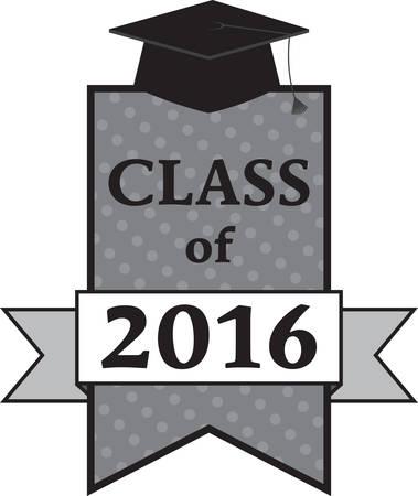 卒業生の完璧なイメージ。  イラスト・ベクター素材