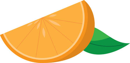 splendid: Create a splendid look for summer with juicy orange slices on place mats and linens! Illustration